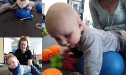Krybe/kravle hold og efterfødselstræning