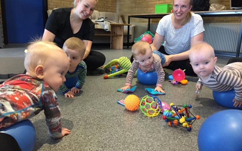 Babymotorik og efterfødselstræning